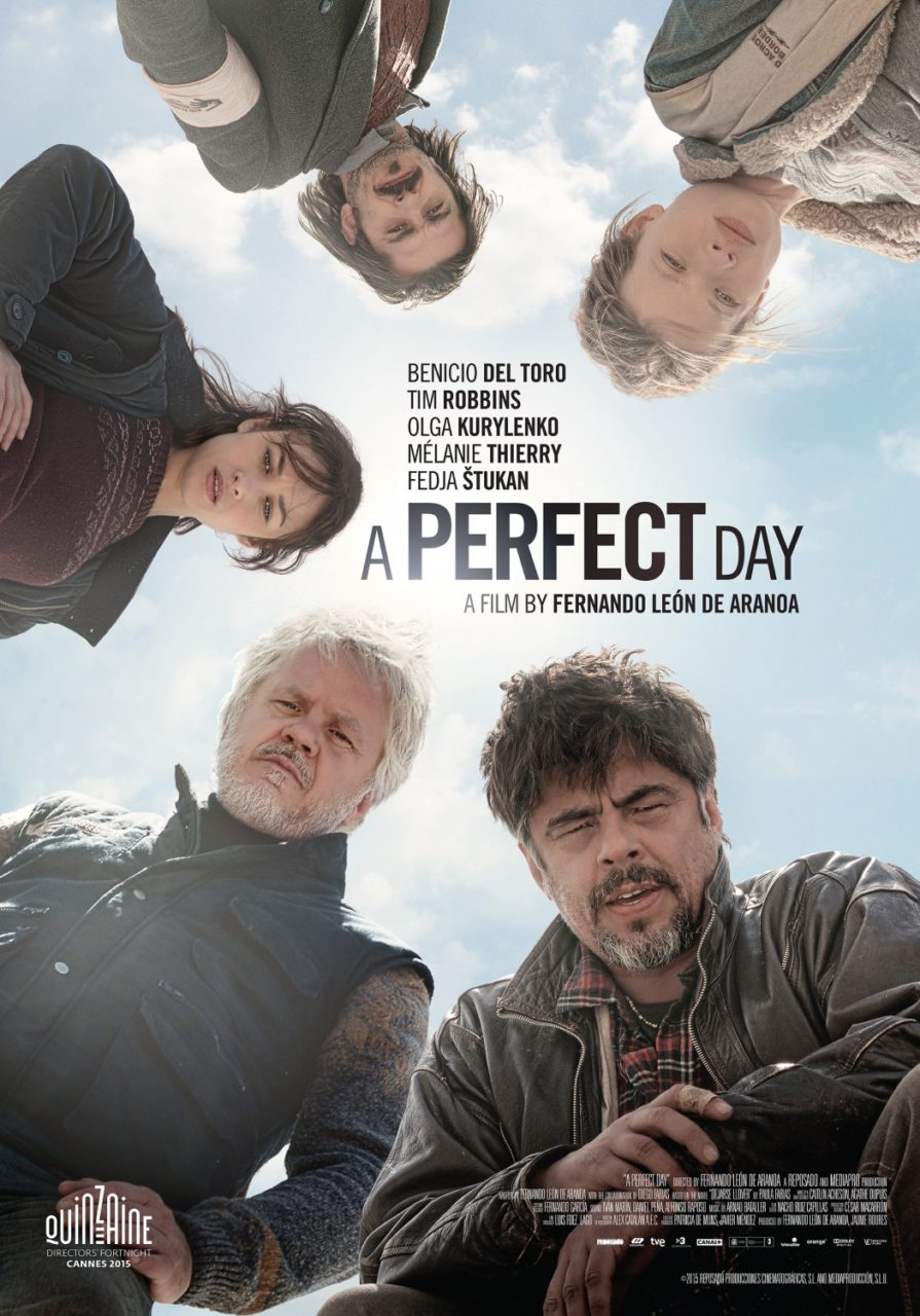 Drama music for the black comedy A Perfect Day starring Benicio del Toro and Tim Robbins. Directed by Fernando León de Aranoa